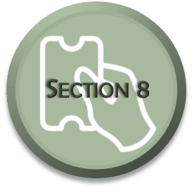 Section 8 Housing Voucher Program Select-able Icon