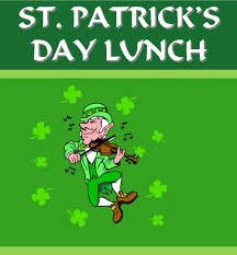st patricks day lunch leprachaun