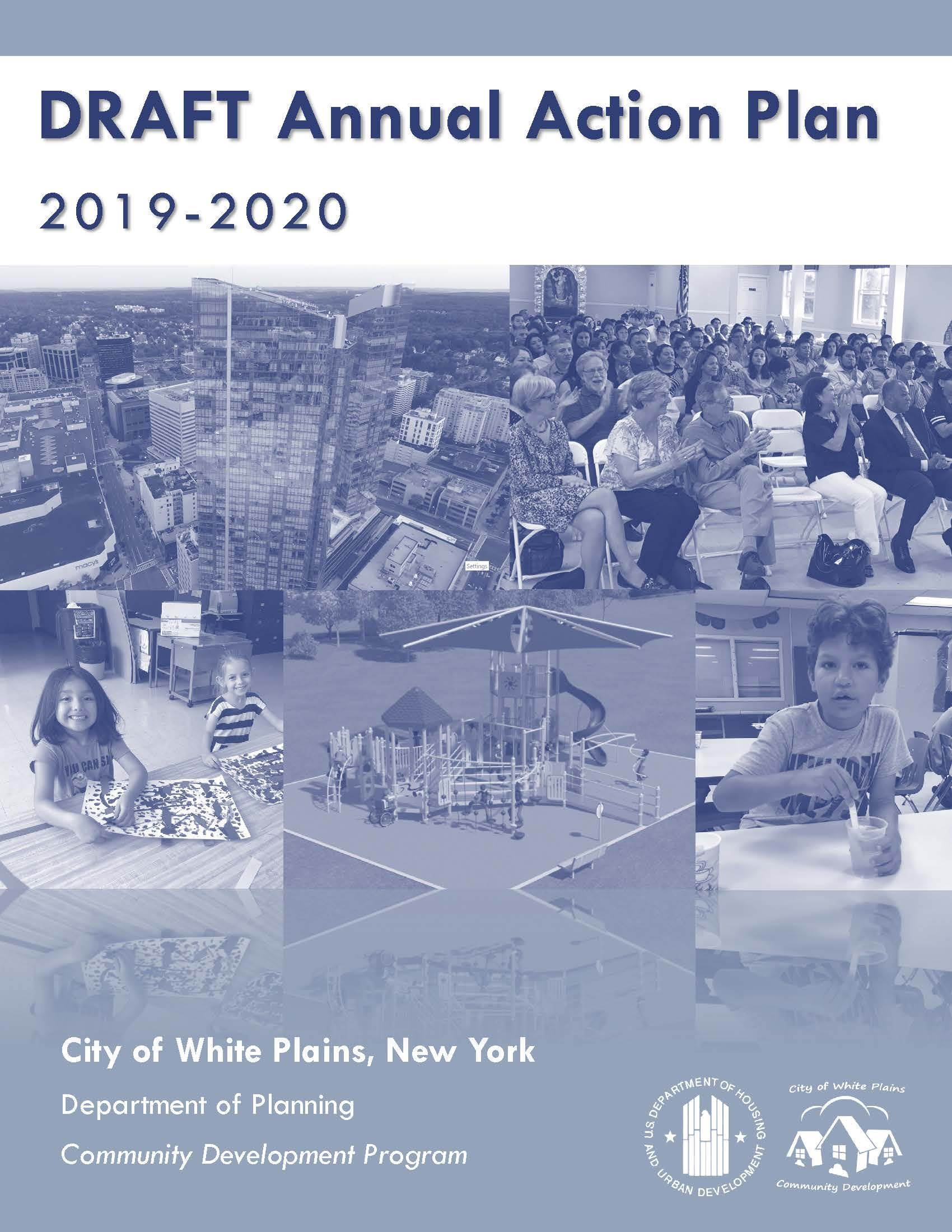 HUD CDBG Annual Action Plan 2019 - 2020 Cover Page