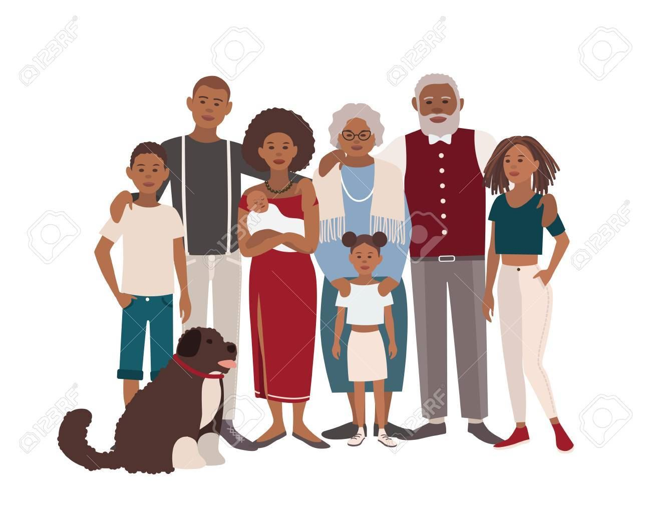 75868528-happy-large-black-family-portrait-father-mother-grandmother-grandfather-sons-daughters-and-