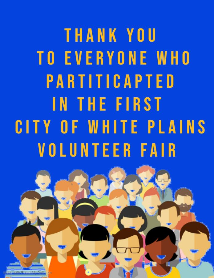 Thank you to everyone who participated in the 1st CWP Volunteer Fair