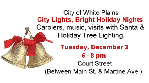Tree Lighting Horizontal Sign