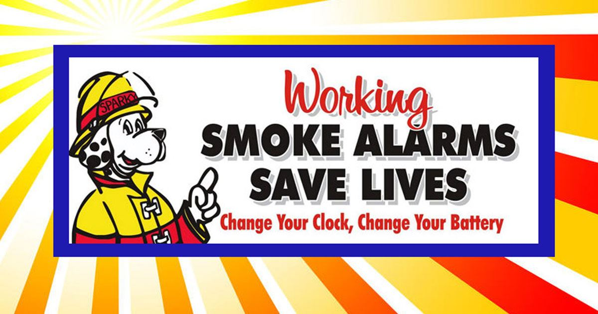 change your smoke alarm