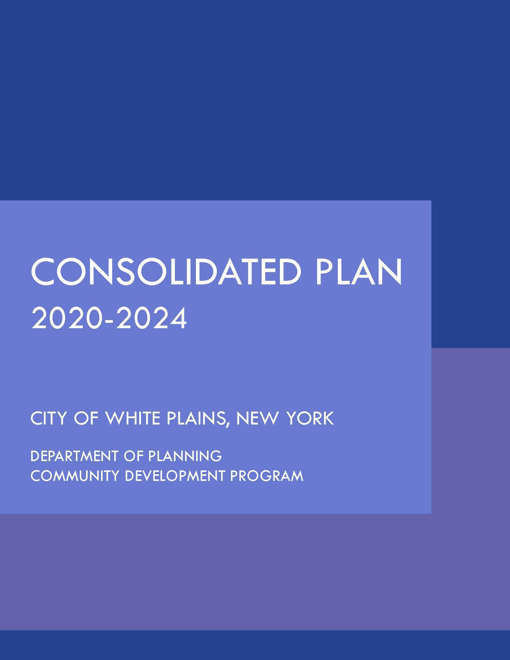 20-24 Consolidated Plan Cover Page