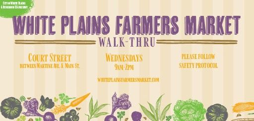 2020 Farmers Market flyer from BID