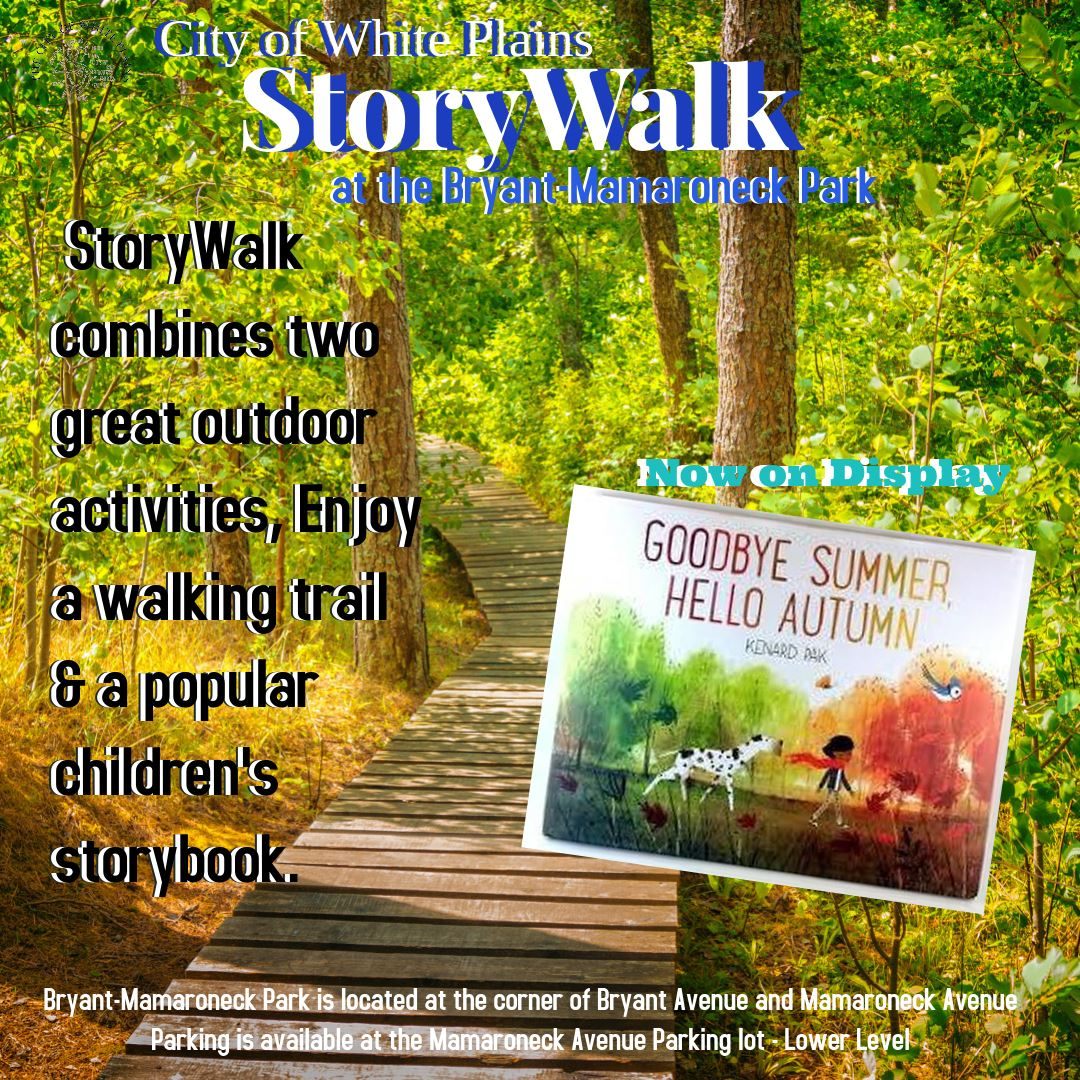 StoryWalk Sept 2020 Goodbye Summer Hello Autumn