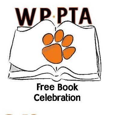 WP PTA FRee Book Celebration logo